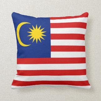 マレーシアの旗Xの旗の枕 クッション