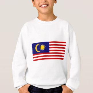 マレーシア- Jalur Gemilangの旗 スウェットシャツ