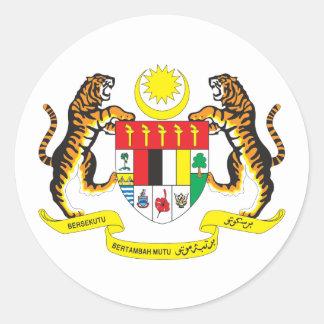 マレーシアCOA ラウンドシール