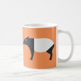 マレーバクのマグ コーヒーマグカップ