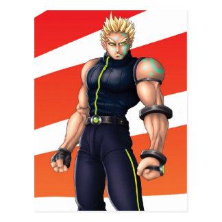 マンガのビデオゲームの英雄 ポストカード