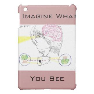 マンガの基本的な目の視力の図表のiPad Miniケース iPad Miniケース