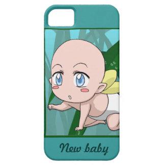 マンガの妖精、新生児 iPhone SE/5/5s ケース