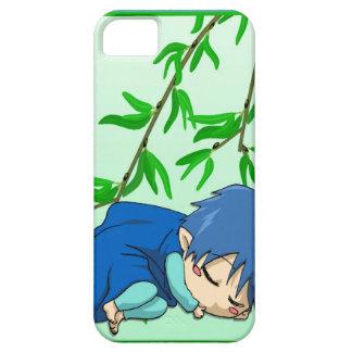 マンガの妖精、眠い男の子の妖精 iPhone SE/5/5s ケース