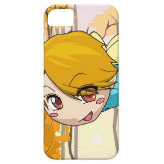 マンガの妖精、飛んでいるな男の子 iPhone SE/5/5s ケース