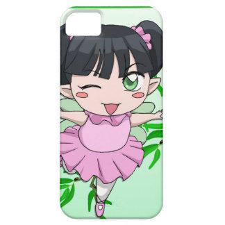 マンガの妖精、Kokeshiの妖精 iPhone SE/5/5s ケース