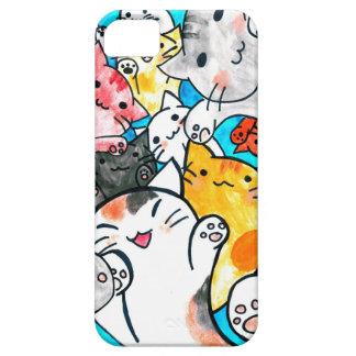 マンガ猫は世界を征服します iPhone SE/5/5s ケース