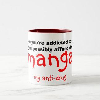 マンガ、私の麻薬取締まり、ので時あなたは常習者… ツートーンマグカップ
