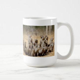 マングースのビジネス コーヒーマグカップ