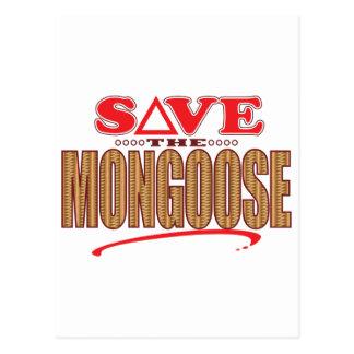マングースの保存 ポストカード