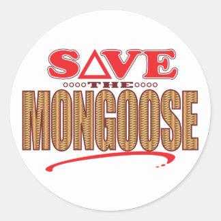 マングースの保存 ラウンドシール