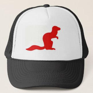 マングースの女の子の帽子 キャップ