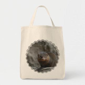 マングースの食料雑貨のトート トートバッグ