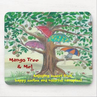 マンゴの木および私! マウスパッド