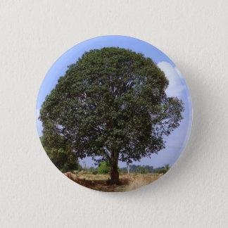 マンゴの木 5.7CM 丸型バッジ