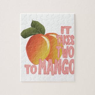 マンゴへの2 ジグソーパズル