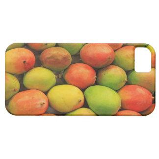 マンゴ、スペイン、カタロニア、バルセロナのLa Boqueria iPhone SE/5/5s ケース