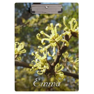 マンサクの花 クリップボード