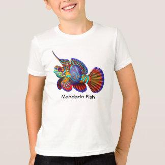 マンダリンのハゼのDragonetの魚はTシャツをからかいます Tシャツ
