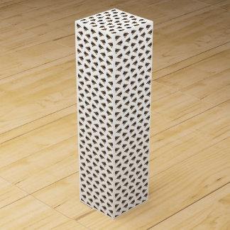 マンダリンの逆上のワイン箱(白い) ワインギフトボックス