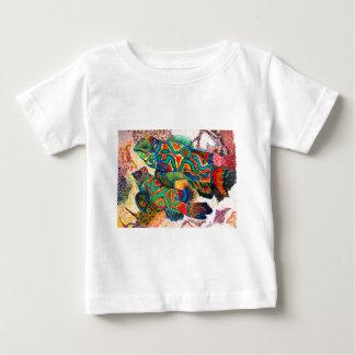 マンダリンの魚の芸術 ベビーTシャツ