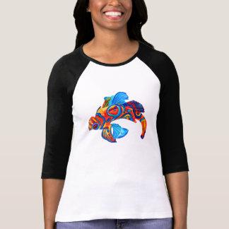 マンダリンの魚のTシャツ Tシャツ