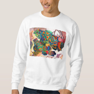マンダリンの魚 スウェットシャツ