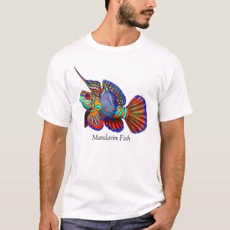 マンダリンのDragonetのハゼの魚のTシャツ Tシャツ