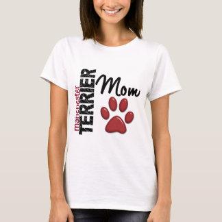 マンチェスターテリアのお母さん2 Tシャツ