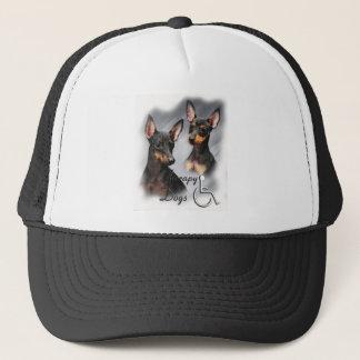 マンチェスターテリアのセラピー犬 キャップ