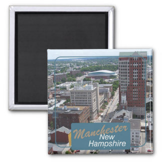 マンチェスターニューハンプシャー旅行写真の磁石 マグネット