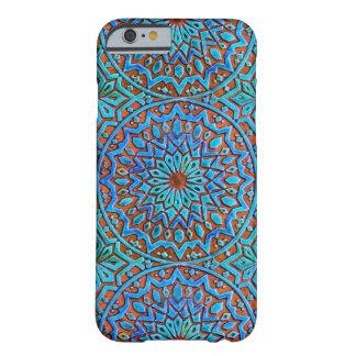 マンデラのモロッコのタイルのデザイン BARELY THERE iPhone 6 ケース