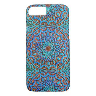 マンデラのモロッコのタイルのデザイン iPhone 8/7ケース