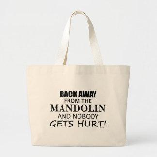 マンドリンから遠くにな背部 ラージトートバッグ