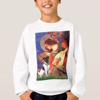 マンドリンの天使-キツネTerirerを滑らかにして下さい スウェットシャツ