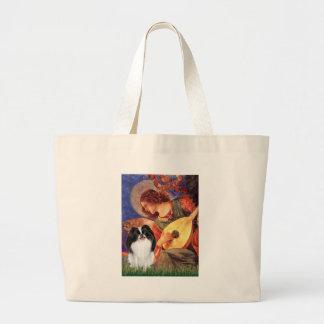 マンドリンの天使-日本語Chin 3 ラージトートバッグ