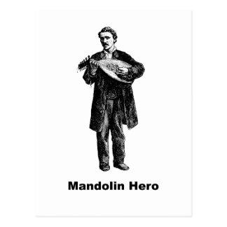 マンドリンの英雄 ポストカード
