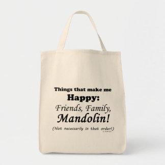 マンドリンは私を幸せにさせます トートバッグ