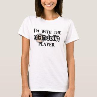 マンドリンプレーヤー Tシャツ