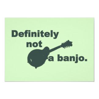 マンドリン -- 完全にないバンジョー カード