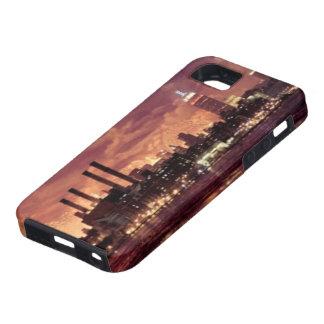 マンハッタンの後ろの7月4日の花火 iPhone SE/5/5s ケース