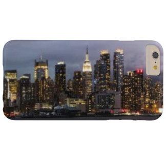 マンハッタンの早い夕べの全景 BARELY THERE iPhone 6 PLUS ケース