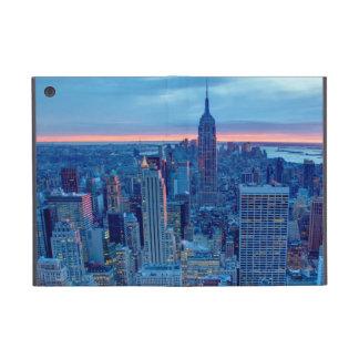 マンハッタンの超高層ビルはついています iPad MINI ケース