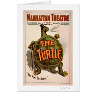 マンハッタン劇場のニューヨークのブロードウェイカメ カード