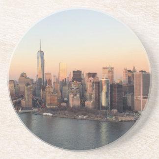 マンハッタン日没WTCの自由タワーNYCを下げて下さい コースター