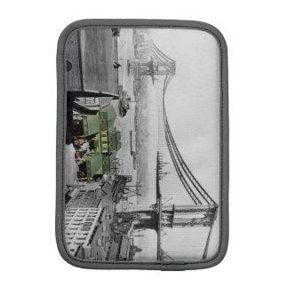 マンハッタン橋ニューヨークのヴィンテージの写真の袖 iPad MINI スリーブ
