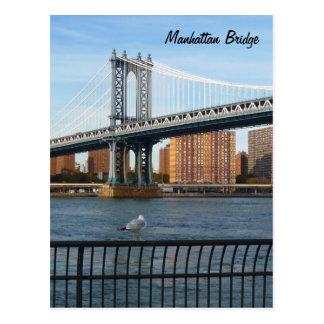 マンハッタン橋 ポストカード