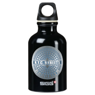 マンホールの蓋のブルックリンの青 SIGG トラベラー 0.3L ウォーターボトル