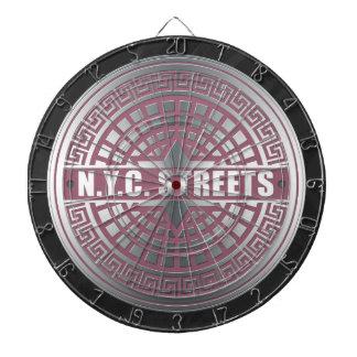 マンホールCoversNYC ダーツボード