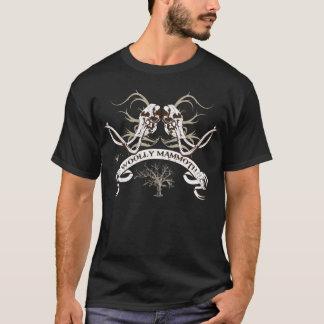 マンモスのスカルVer 2 Tシャツ